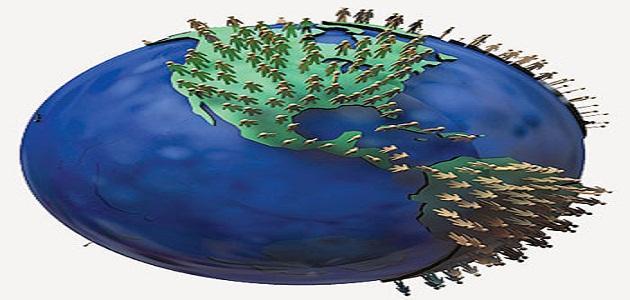 صورة جديد توزيع السكان في العالم