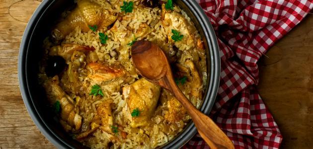 صورة جديد طريقة طبخ مدفون الدجاج