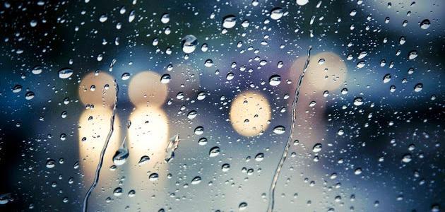 صورة جديد كلمات عن الشتاء والمطر