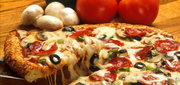 صورة جديد طريقة عمل البيتزا بالخضار