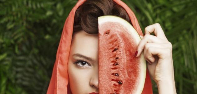 صورة جديد ما فوائد البطيخ للبشرة