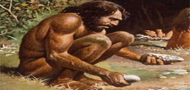 صورة جديد كيف عاش الإنسان البدائي