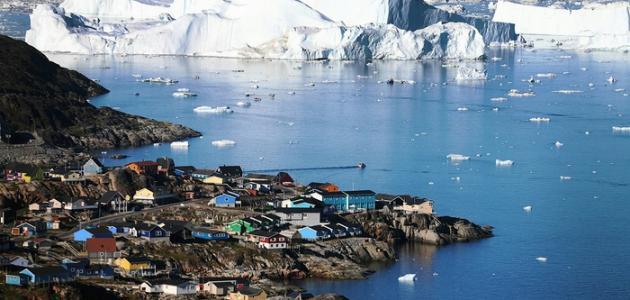 صورة جديد أين تقع جزيرة جرينلاند