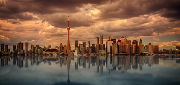 صورة جديد ما هي مساحة كندا وعدد سكانها