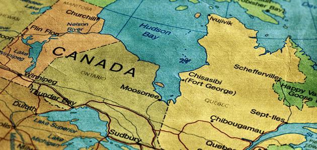 صورة جديد في أي قارة تقع كندا