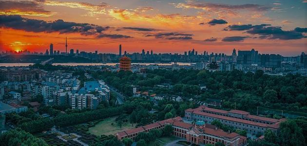 صورة جديد مدينة ووهان الصينية