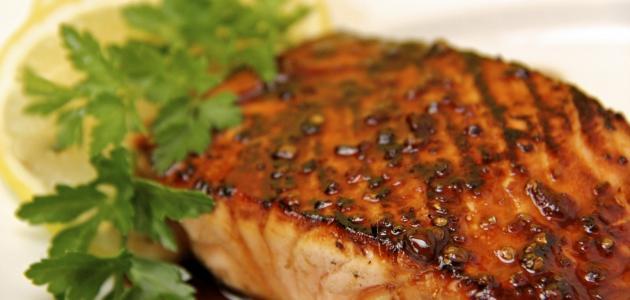 صورة جديد طريقة قلي سمك السلمون