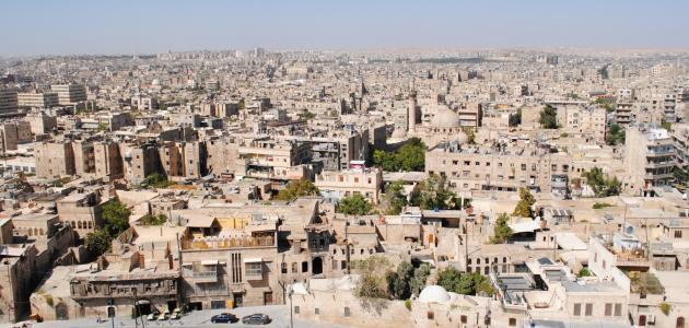 صورة جديد مساحة سوريا وعدد السكان