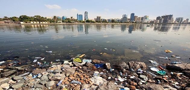 صورة جديد تلوث مياه البحر