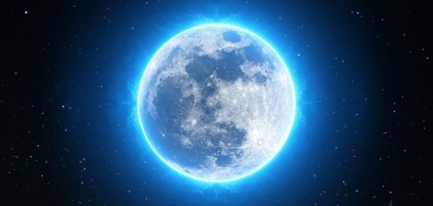 صورة جديد متى يكون القمر بدراً