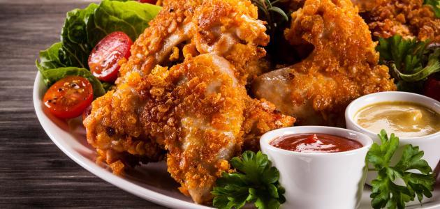 صورة جديد كيفية تحضير دجاج مقلي