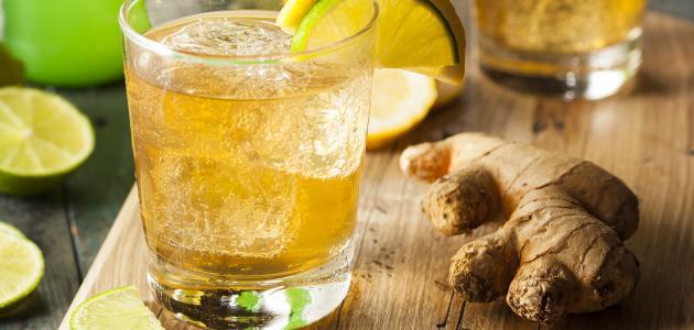 صورة جديد كيفية عمل مشروب الزنجبيل