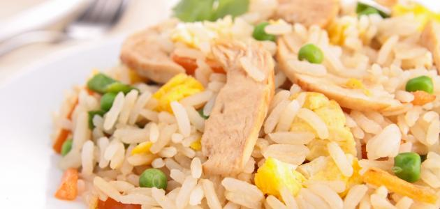 صورة جديد طريقة تحضير أرز أبيض بالدجاج