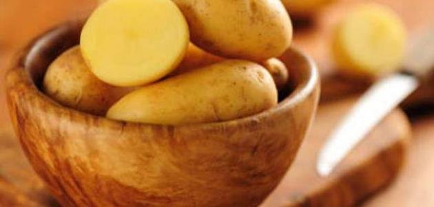 صورة جديد البطاطس للهالات السوداء