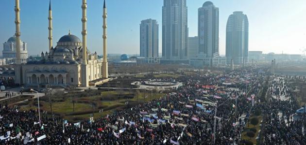 صورة جديد أين تقع الشيشان