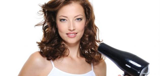 صورة جديد كيف أستعمل مجفف الشعر