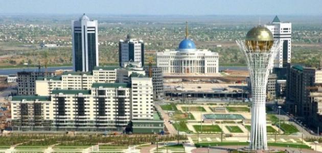 صورة جديد أين تقع كازاخستان