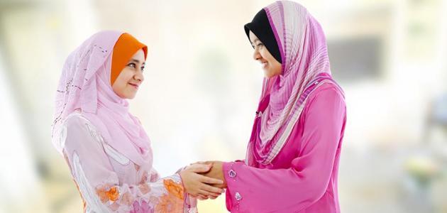 صورة جديد مكانة المرأة المسلمة