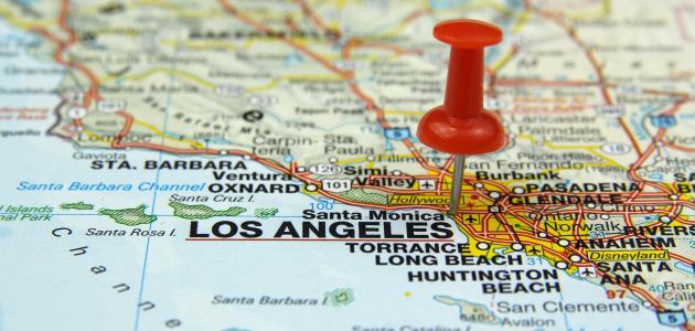 صورة جديد أين تقع لوس أنجلوس
