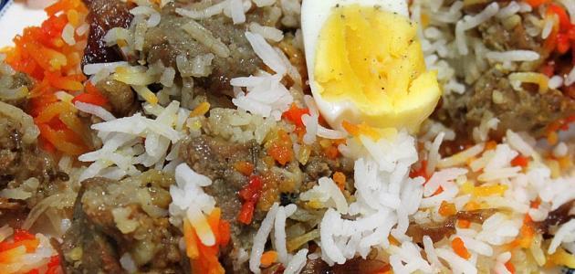 صورة جديد طريقة عمل أرز البخاري باللحم