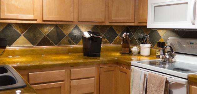 صورة جديد كيفية تنظيف خشب المطبخ