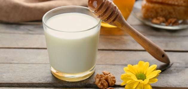 صورة جديد فوائد العسل مع الحليب