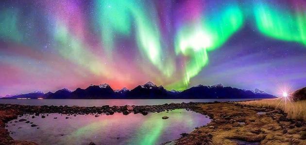 صورة جديد ظاهرة الشفق القطبي
