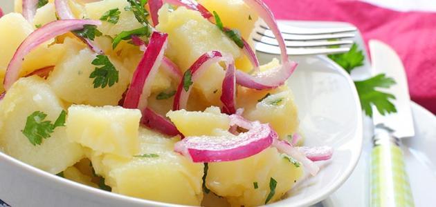 صورة جديد طريقة عمل سلطة البطاطس