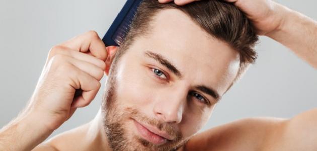 صورة جديد كيف أحافظ على شعري للرجال