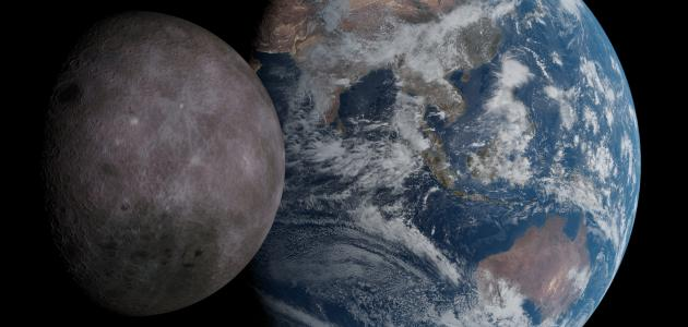 صورة جديد عدد الأقمار التي تدور حول الأرض
