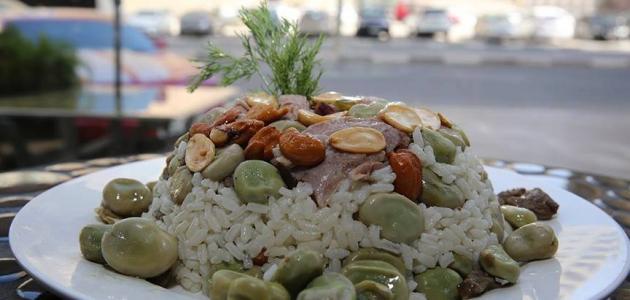 صورة جديد أرز بالفول على الطريقة اللبنانية