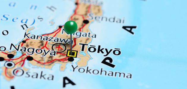 صورة جديد أين تقع طوكيو