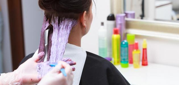 صورة جديد طريقة إزالة الصبغة من الشعر