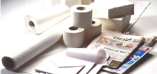 صورة جديد كيف يصنع الورق