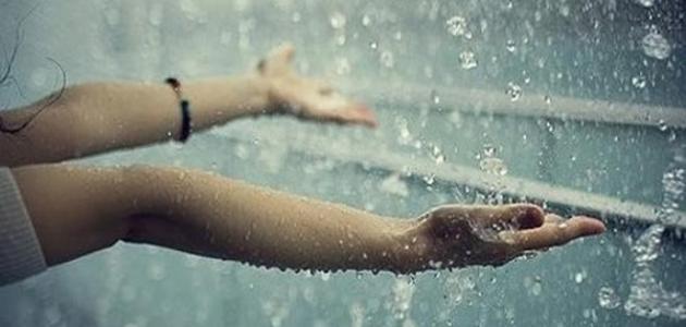 صورة جديد دعاء نزول المطر