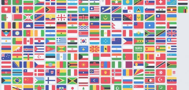 صورة جديد ترتيب الدول حسب المساحة