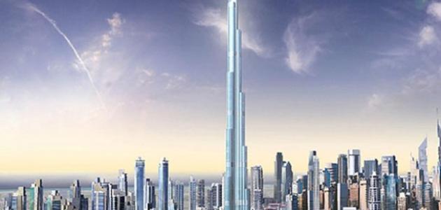 صورة جديد كم طول برج خليفة