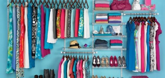 صورة جديد كيفية ترتيب خزانة الملابس