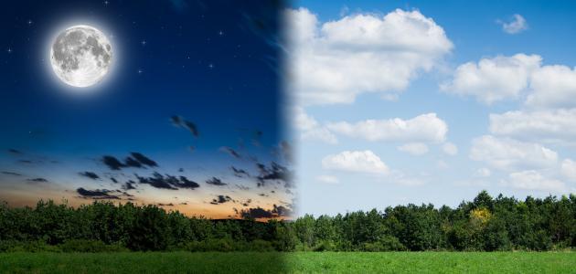 صورة جديد كيف يحدث تعاقب الليل والنهار