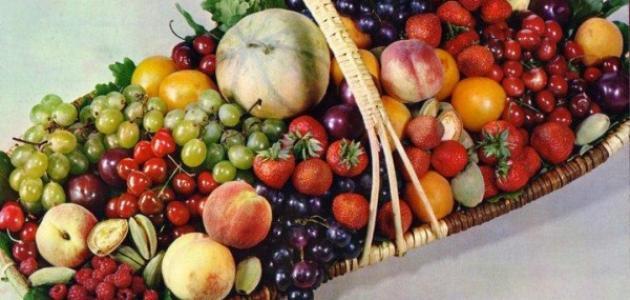 صورة جديد الفواكه التي تحتوي على البوتاسيوم