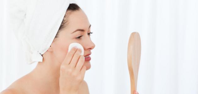 صورة جديد كيفية تنظيف الوجه من المكياج