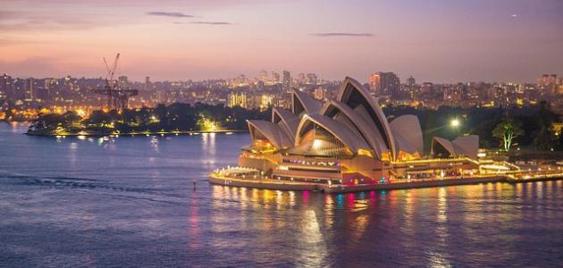 صورة جديد أكبر مدن أستراليا وليست العاصمة