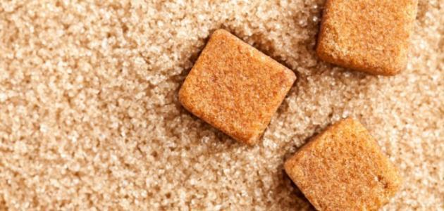 صورة جديد الفرق بين السكر البني والسكر الأبيض
