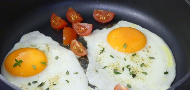 صورة جديد طريقة عمل بيض بالبصل والطماطم