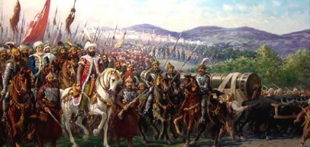 صورة جديد مراحل امتداد النفوذ العثماني