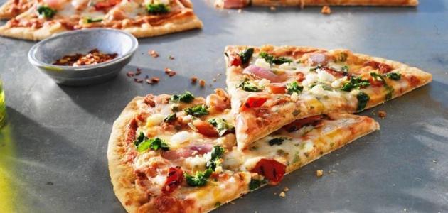 صورة جديد طريقة عمل البيتزا في البيت