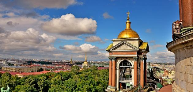صورة جديد أهم المعالم السياحية في سان بطرسبرغ