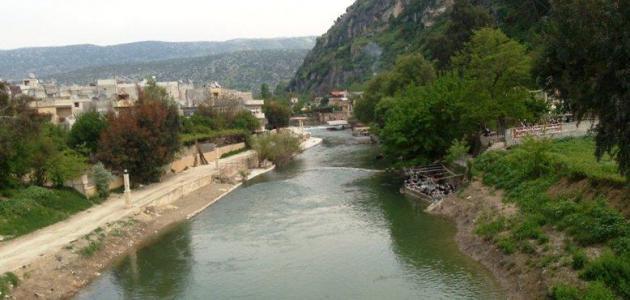 صورة جديد أين يقع نهر العاصي