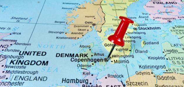صورة جديد أين تقع الدنمارك