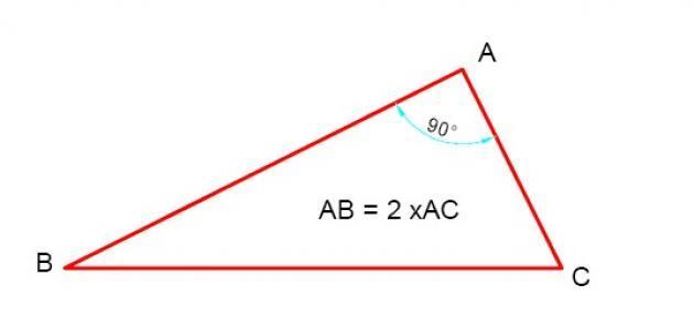 صورة جديد قانون مساحة المثلث قائم الزاوية